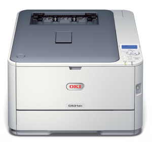 OKI-C531dn-Duplex-Network-A4-Colour-Laser-Printer-Front