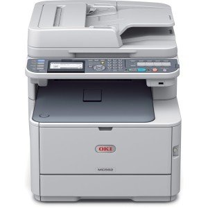 OKI-MC562dnw-Multi-Function-Duplex-Network-Wireless-A4-Colour-Laser-Printer-Front