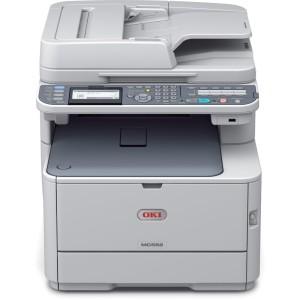 OKI-MC562dnw-Multi-Function-Duplex-Network-Wireless-A4-Colour-Laser-Printer-Front