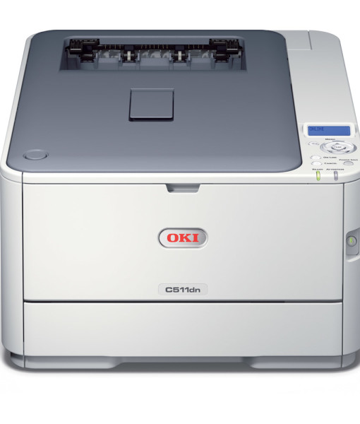 OKI-C511dn-Duplex-Network-A4-Colour-Laser-Printer-Front