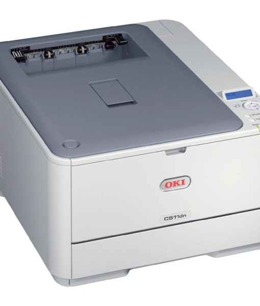 OKI-C511dn-Duplex-Network-A4-Colour-Laser-Printer-Right